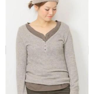 ドゥーズィエムクラス(DEUXIEME CLASSE)の美品 ワッフル long T(Tシャツ/カットソー(七分/長袖))