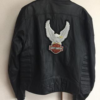 ハーレーダビッドソン(Harley Davidson)のハーレーダビィドソンのライダーズジャンパー(ライダースジャケット)