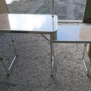 ロゴス(LOGOS)のロゴス キッチンテーブル 廃盤 アウトドア キャンプ テーブル(アウトドアテーブル)