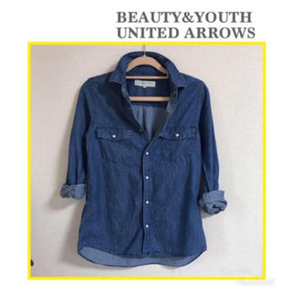 BEAUTY&YOUTH UNITED ARROWS - BEAUTY&YOUTH UNITED ARROWS デニム シャツ