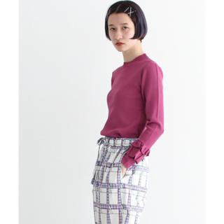 アイアムアイ(I am I)のMARRON フリルスリーブPO(ピンク)(カットソー(長袖/七分))