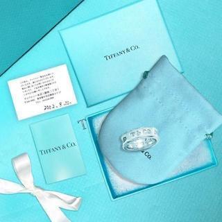 ティファニー(Tiffany & Co.)の未使用 ティファニー 1837ロゴリング 15号(リング(指輪))
