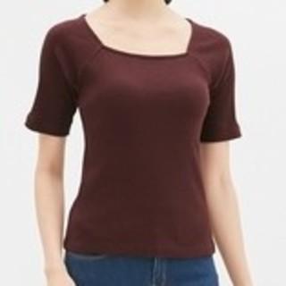 ジーユー(GU)のジーユー ✧美✧デコルテトップス(Tシャツ(半袖/袖なし))