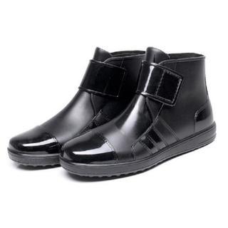 メンズ レインシューズ ショート ブーツ 長靴 26cm 防水 軽量 (長靴/レインシューズ)