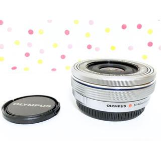 オリンパス(OLYMPUS)の新品❤️OLYMPUS パンケーキズームレンズ M.ZUIKO 14-42mm(レンズ(ズーム))