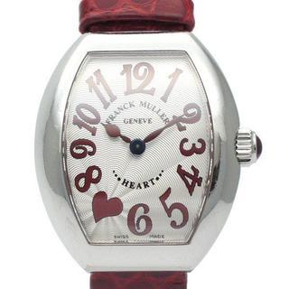 フランクミュラー(FRANCK MULLER)の正規品 フランクミュラー ハートトゥハート 5002 S QZ C 7H J (腕時計)