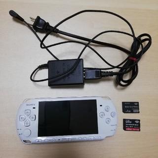 プレイステーションポータブル(PlayStation Portable)のPSP-3000 本体(携帯用ゲーム本体)