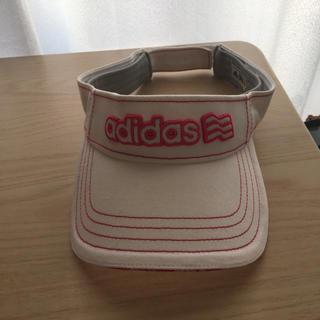 アディダス(adidas)のサンバイザー アディダス(その他)