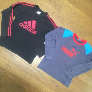 アディダス(adidas)のアディダス プーマ 長袖Tシャツ(Tシャツ/カットソー)
