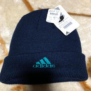 adidas - キッズニット帽