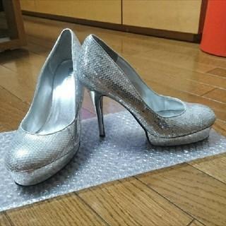 アッシュアンドダイアモンド(ASH&DIAMONDS)のシルバー パンプス(ハイヒール/パンプス)