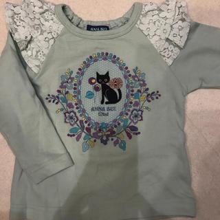 アナスイミニ(ANNA SUI mini)のアナスイミニ  100 ネコトレーナー 1〜2回着用(Tシャツ/カットソー)