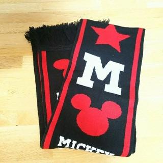 ディズニー(Disney)のミッキーマフラー(キッズ)(マフラー/ストール)