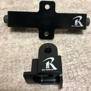REC-MOUNTS ダブル用ベースアダプター、cateyeアダプター