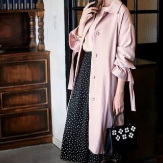 GU - ジーユー キャンディースリーブステンカラーコート スプリングコート