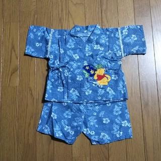 ディズニー(Disney)の甚平 90cm プーさん(甚平/浴衣)