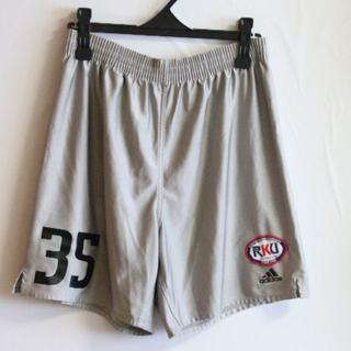 アディダス(adidas)の99 adidas  流通経済サッカーパンツ Oサイズ 銀色 (ウェア)