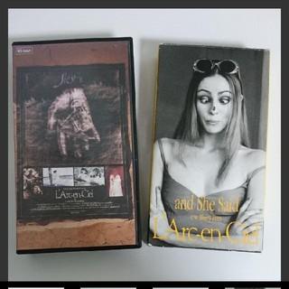 ラルクアンシエル(L'Arc~en~Ciel)のL'Arc〜en〜Ciel(ラルクアンシエル)VHS 2本セット(ミュージック)