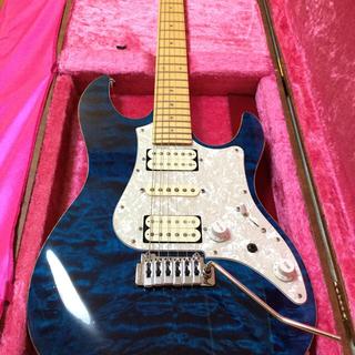 フェンダー(Fender)のフジゲン fgn   EXPERT-OS/QM Transparent Blue(エレキギター)