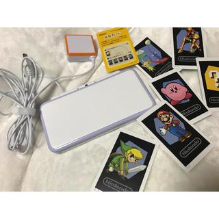 ニンテンドー2DS(ニンテンドー2DS)の2DS LL本体+充電器(家庭用ゲーム本体)