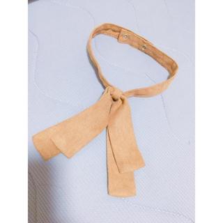 ジーユー(GU)のリボン襟(つけ襟)