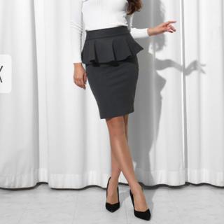 アナップラティーナ(ANAP Latina)のANAP  Latinaペプラムスカート(ひざ丈スカート)