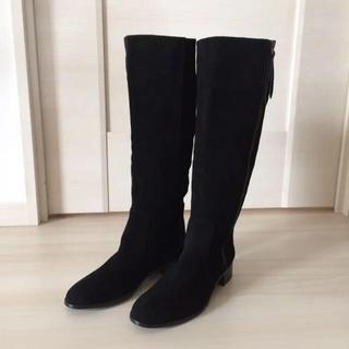 オデットエオディール(Odette e Odile)のオデットエオディール本革スエードのロングブーツ36(ブーツ)