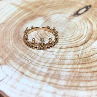 ノジェス(NOJESS)のノジェス クラウンリング 1号(リング(指輪))
