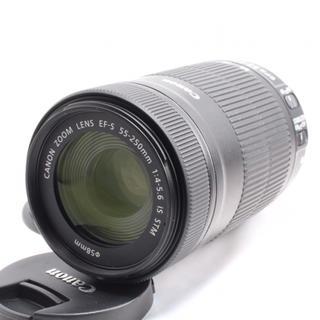 キヤノン(Canon)の❤️最新の高性能超望遠❤️キャノン EF-S 55-250mm IS STM❤️(レンズ(ズーム))