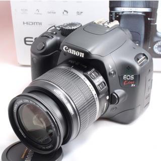 キヤノン(Canon)の✨大人気の一眼レフ✨Canon Kiss X4 レンズキット 保証(デジタル一眼)