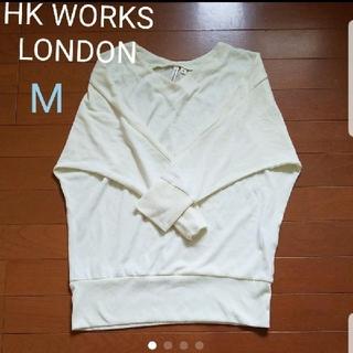 シマムラ(しまむら)のHK WORKS LONDON ニット M イエロー(ニット/セーター)