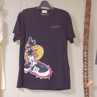 アディダス(adidas)のadidas Tシャツ👕(Tシャツ/カットソー(半袖/袖なし))