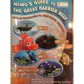 ディズニー(Disney)のNEMO's GUIDE TO THE GREATE BARRIER REEF(洋書)