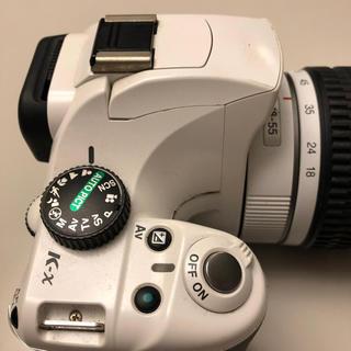 ペンタックス(PENTAX)のPENTAX ペンタックス K-X ホワイト(デジタル一眼)