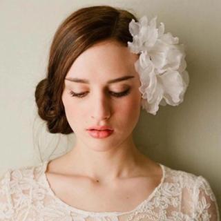 フラワーシフォン ヘッドドレス ヘアパーツ(ヘッドドレス/ドレス)