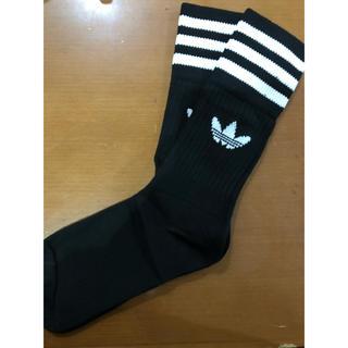アディダス(adidas)のadidas ソックス 22〜24cm ブラック 1足(ソックス)