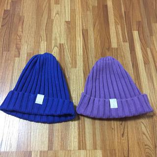 ジーユー(GU)の❤ニット帽(ニット帽/ビーニー)