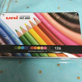 ミツビシエンピツ(三菱鉛筆)の三菱色鉛筆 12色(色鉛筆 )