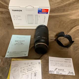 タムロン(TAMRON)のタムロン28-75  f2.8 ソニーEマウント(レンズ(ズーム))