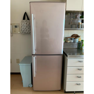 ミツビシ(三菱)の三菱ノンフロン冷凍冷蔵庫(冷蔵庫)