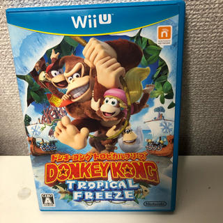 ウィーユー(Wii U)のドンキーコング トロピカルフリーズ(家庭用ゲームソフト)