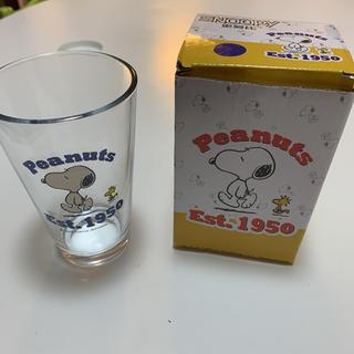 スヌーピー(SNOOPY)のスヌーピー ガラスコップ(グラス/カップ)