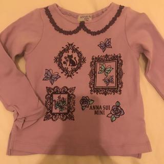 アナスイミニ(ANNA SUI mini)のアナスイミニ  ネコトップス 100(Tシャツ/カットソー)