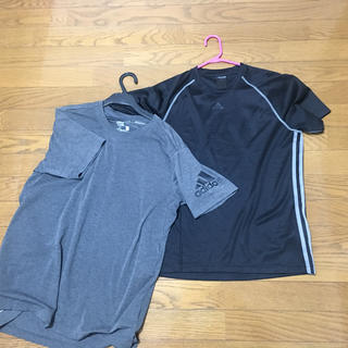 アディダス(adidas)のアディダス  Tシャツ  Lサイズ2枚セット(Tシャツ/カットソー(半袖/袖なし))
