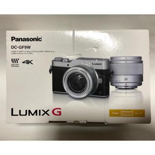 パナソニック(Panasonic)のPanasonic  DC-GF9W-D LUMIX GF9 ダブルレンズキット(ミラーレス一眼)