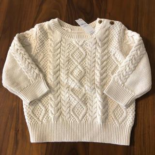 ベビーギャップ(babyGAP)の【新品未使用】babyGap セーター 90cm/18-24months(ニット)