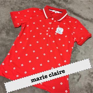 マリクレール(Marie Claire)のmarie claire★ポロシャツ★赤(ポロシャツ)