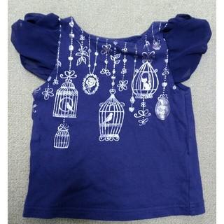アナスイミニ(ANNA SUI mini)のアナスイミニ Tシャツ 100㎝(Tシャツ/カットソー)