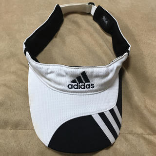アディダス(adidas)のadidas アディダス サンバイザー(サンバイザー)