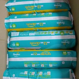 ピーアンドジー(P&G)の専用★パンパース Mサイズ テープ80枚×5(ベビー紙おむつ)